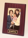 Rosewood Piano Finish Photo Frame Boss Gift Awards