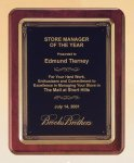 Rosewood Piano Finish Plaque Golf Awards