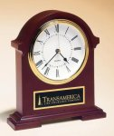 Napoleon Mantle Clock with Hand-rubbed Mahogany Finish Mantle Clocks