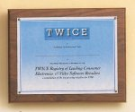 American Walnut Photo / Certificate Plaque Photo Plaques