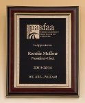Mahogany Frame Recognition Plaques