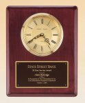 Rosewood Piano Finish Vertical Wall Clock Religious Awards