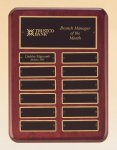 Rosewood Piano Finish Perpetual Plaque Religious Awards