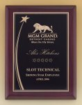 Shooting Star Rosewood Piano Finish Plaque Star Plaques