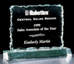 Crushed Ice Square Acrylic Award Traditional Acrylic Awards